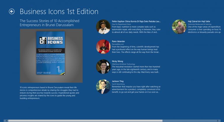 Business Icon Windows App