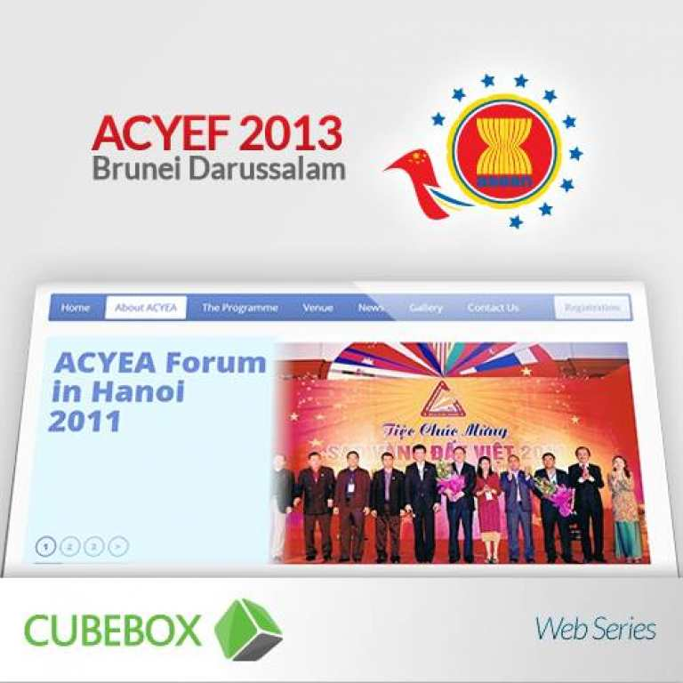 ACYEF 2013 Brunei Website